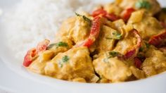 How to make the perfect Creamy Chicken Curry by  on Food Network UK.