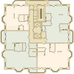 MONTBLANC Residence - Выбор квартир - Башня 1, этаж 10