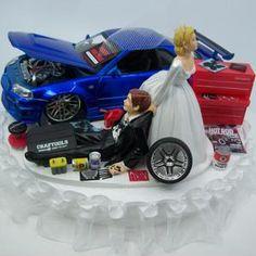 Nissan Skyline, Skyline Gtr R34, Gt R, Miller Lite, Monster Energy, Mécanicien Automobile, Car Cakes For Men, Funny Cake Toppers, Funny Wedding Cake Toppers