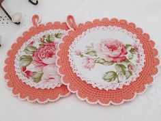 Table Runner And Placemats, Crochet Kitchen, Macrame Patterns, Sewing Techniques, Beautiful Crochet, Doilies, Couture, Knit Crochet, Coasters