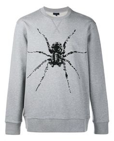 LANVIN Spider Print Bead Embellished Sweater. #lanvin #cloth #