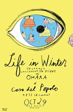 LIFE IN WINTER POSTER by Ohara.Hale, via Flickr
