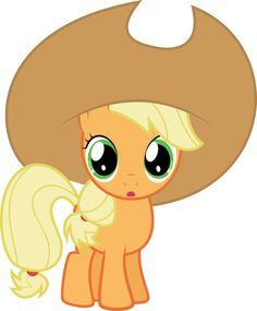 Filly Apple Jack <--- actually that is apple bloom. Two words: magic duel.