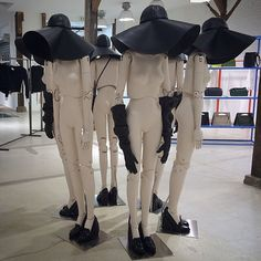 """Fantasy"" mannequins by Hans Boodt, ""The Circle of Trust"",pinned by Ton van der…"