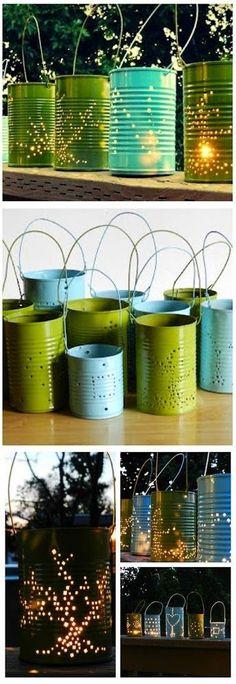all-garden-world: How To Make Tin Like Lantern