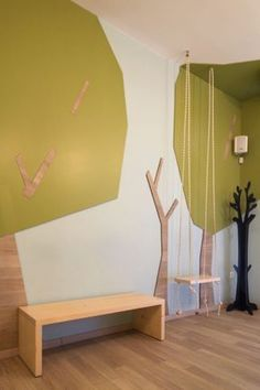 Interior design of a dental kid office in Kifissia, Athens, Greece - hhh architects Clinic Interior Design, Interior Design Portfolios, Clinic Design, Healthcare Design, Church Interior Design, Modern Interior, Work Office Design, Dental Office Design, Design Offices