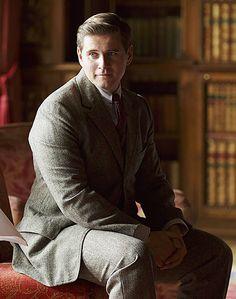 downton abbey season 5 branson in the library   ..rh