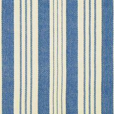 Staffordshire Stripe Woven Cotton Rug
