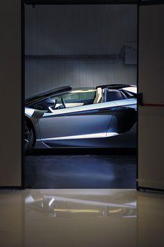 Lamborghini Aventador roadster..