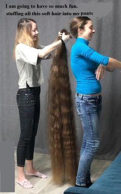 Long Layered Hair, Long Hair Cuts, Long Hair Styles, Long Hair Ponytail, Long Hair Models, Long Hair Play, Really Long Hair, Rapunzel Hair, Long Hair Video