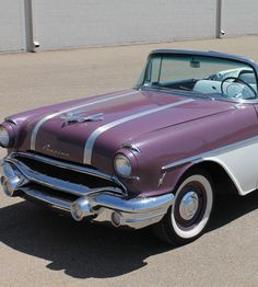 Vintage 1956 Pontiac in Purple! What do you think? Check it out.