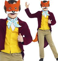 Dress up as Fantastic Mr Fox with this brilliant fancy dress costume from Party Delights. Perfect as a World Book Day costume or for Dahlicious Dress Up Day.