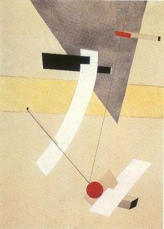 Lazar Lissitzky, dit El Lissitzky (Russie, 1890-1941) – Proun12 (1920)