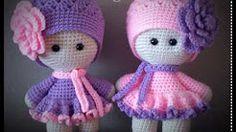 muñecas amigurumis paso a paso en español - YouTube