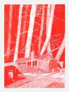 Evil House: Monochrome Drawings by Morten Schelde Kunst Inspo, Art Inspo, Art And Illustration, Guache, Art Hoe, Environment Concept Art, Art Sketchbook, Collage Art, Art Reference