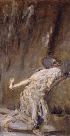 Max Slevogt - Tilla Durieux als Weib des Potiphar in der Josefslegende (1921)