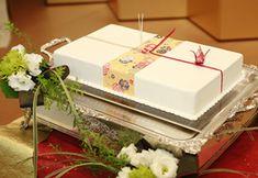 のしのウエディングケーキ3 Japanese Wedding, Food Photo, Cake Decorating, Wedding Cakes, Decorative Boxes, Gift Wrapping, Weeding, Gifts, Style