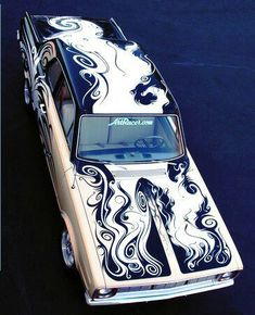 Go Away Garage---Didn't know if I should pin this on Art or Dream Cars...but this is pretty incredible