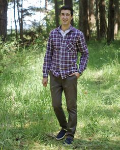 Jedediah Pants   Men's Clothing Pattern   Thread Theory Designs