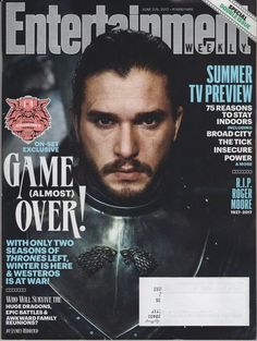 Entertainment Weekly Magazine June 2/9 2017 - Special Collector's Cover #1 of 4