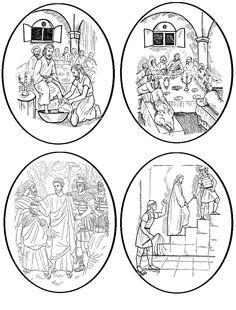 Lent, Catholic, Decorative Plates, Easter, Tableware, Home Decor, Religious Education, Creative Ideas, Dinnerware