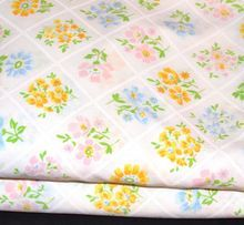 1960s Bibb ~ Floral Trellis Twin Sheet Set... HAD THESE SHEETS TOO!