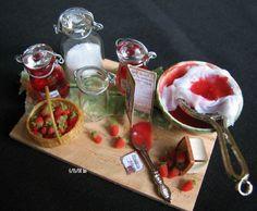 Strawberry jam. looks delicious!