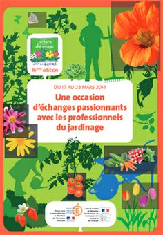 17 au 23 mars 2014 «Jardinage pour les écoles» et Observatoire des saisons |
