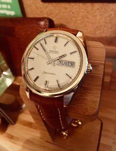 Vintage Omega Gold Seamaster Watch
