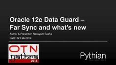 Oracle12c data guard farsync and whats new