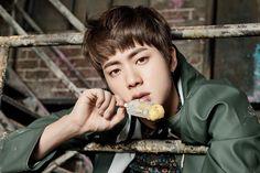 BTS YNWA You never walk alone concept photos Jin Kim SeokJin I'm crying