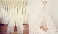 Grosgrain: Lace Tents Tutorial and Collection