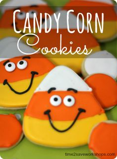 Candy Corn Cookies R