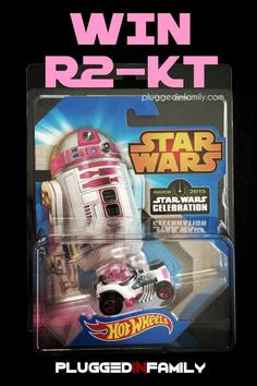 Win R2-KT Hotwheels exclusive at Star Wars Celebration 2015