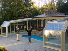 1000 images about greenhouse covered pool on pinterest for Greenhouse over swimming pool