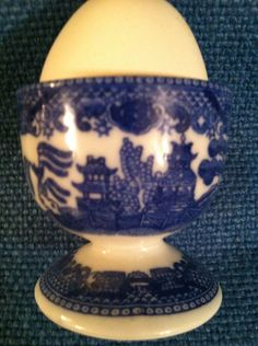 Egg cup- no markings Vintage Egg Cups, Eggs, Kitchen, Cooking, Kitchens, Egg, Cuisine, Cucina, Egg As Food