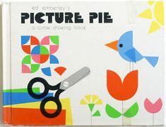 キュリオブックス 【ED EMBERLEY'S PICTURE PIE A CIRCLE DRAWING BOOK】