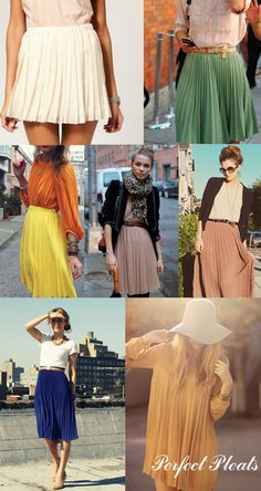 If I could, I'd wear skirts all day everyday