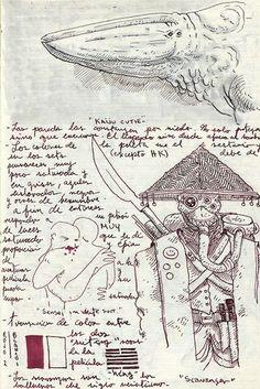 Guillermo del toro ssketch 6
