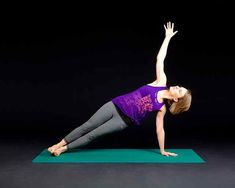 Learn how to build arm strength with yoga. Does yoga replace a gym workout and strength training? Yoga is very challenging. Pilates Workout, Pilates Training, Le Pilates, Joseph Pilates, Toning Workouts, Fitness Exercises, Workout Fitness, Yoga Fitness, Core Exercises