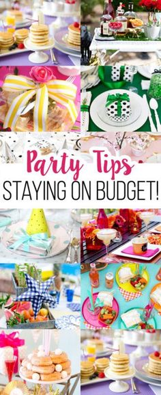 How to stay on budget and still throw a party in style!