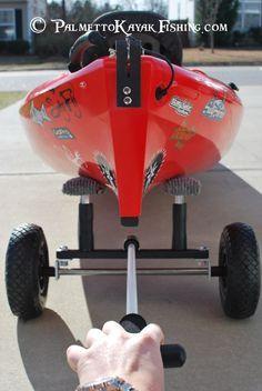 Palmetto Kayak Fishing: Build a strong DIY kayak cart instructions + VIDEO