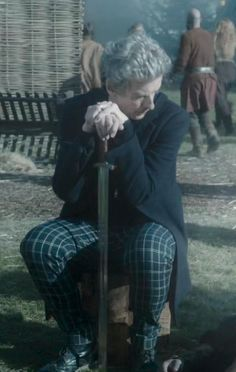 Twelve's plaid trousers are a gift sent from the gods.
