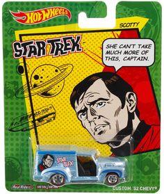 Star Trek Scotty Hot Wheels