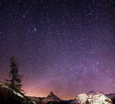 Taking the time to appreciate the magic of the night sky.