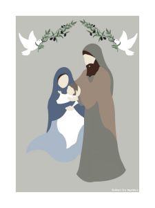 images pieuses Illustration Noel, Illustrations, Communion, Sunday School, Folk Art, Religion, Mary, Bible, Inspiration