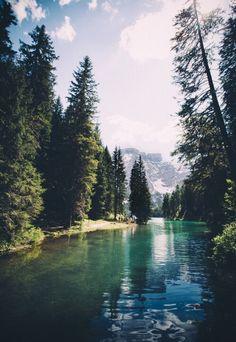 Mountain oasis...