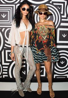 chanel iman shanina shaik looks coachella 17 abril 16