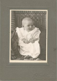 Antique Baby picture    #Babies