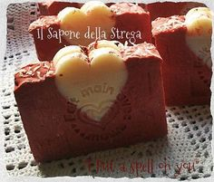 """ I put a Spell on you""  Natural Soap Sapone Artigianale Naturale Vegan"